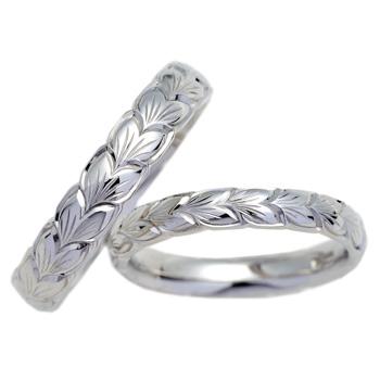 結婚指輪 リーフ leaf