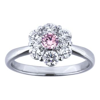 婚約指輪 大輪の結晶 tairin no kessho