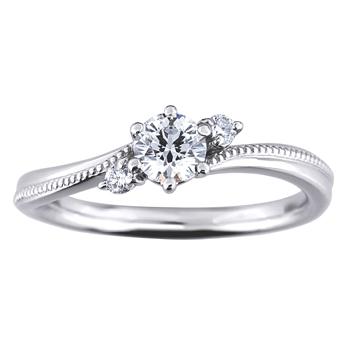婚約指輪 幸月 kougutsu