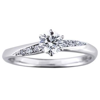婚約指輪 六花の星 rokka no hoshi