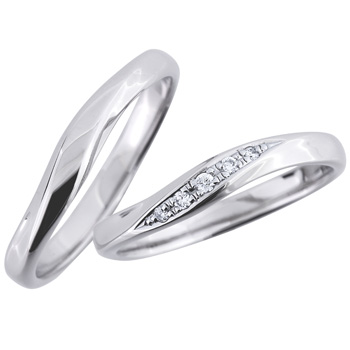 結婚指輪 幸月 kougetsu