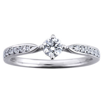 婚約指輪 重ね織 kasaneori