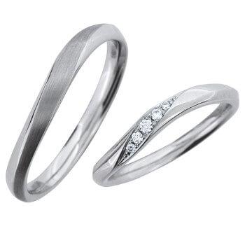 結婚指輪 光 hikari