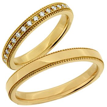 結婚指輪 (NEW)縁 eni K18YG