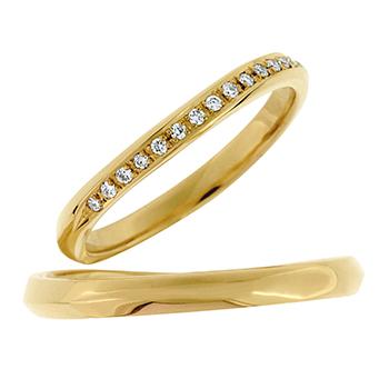 結婚指輪 (NEW)しるし shirushi YG